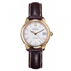 Davosa Ladies Delight PVD goldbeschichtet Automatik mit...