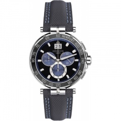 Michel Herbelin Newport Chrono 36656-AN65 blau mit...