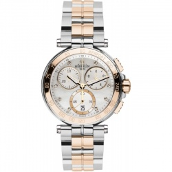 Michel Herbelin Newport Damen Chrono bicolor 33696-BTR59...