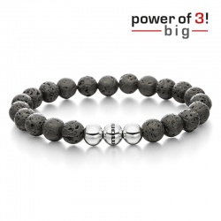 monomania Armband - Power of 3! - big - Lava - Innovation M = 18 cm
