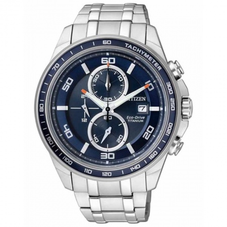 Citizen Eco-Drive Super Titanium CA0345-51L Analog Chronograph