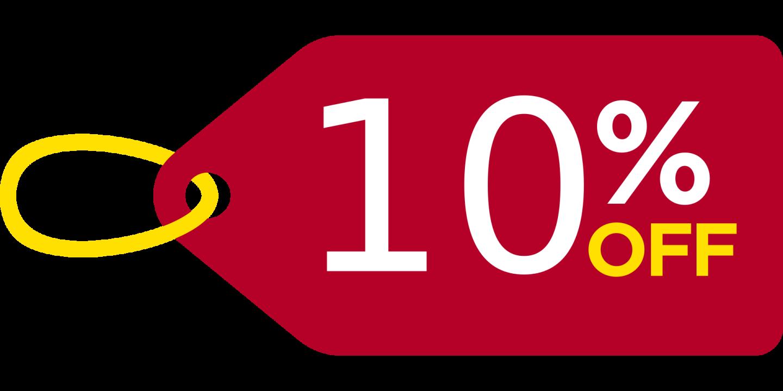 10% Rabatt-Kupon für Ihre Newsletteranmeldung