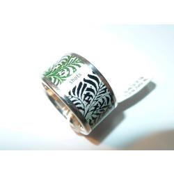 Ring Zebra shots Herbal Weite 52 Silber 925 Artikel 40269