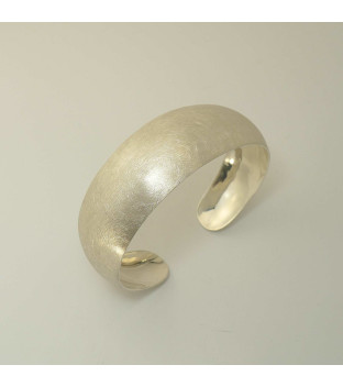 Armspange 925-Sterling-Silber konvex verlaufend -...