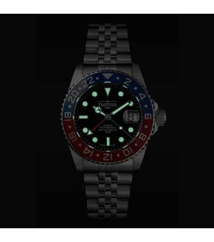 Davosa Ternos Professional GMT Diver 161.571.06 rot blau...