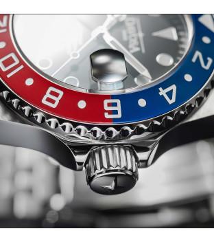 Davosa Ternos Professional GMT Diver 161.571.06 rot blau schwarz