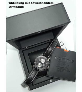 Fortis B-42 Stratoliner 665.10.11 Herrenuhr Automatik Chronograph mit Lederband