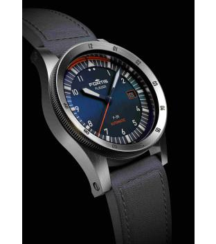 Fortis Flieger F-39 Midnight Blue F.422.0011 Automatik mit Lederband