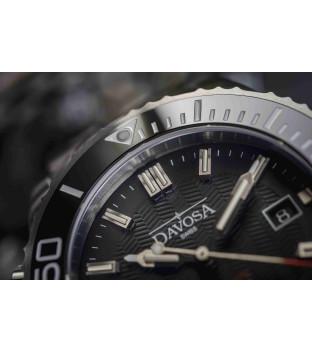 Davosa Argonautic Lumis Automatik Stahl 161.576.10 Taucheruhr mit Heliumventil