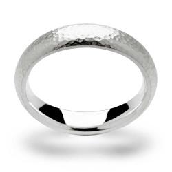 bastian inverun Ring Silber Hammerschlag Größe...