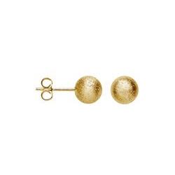 bastian inverun 11880 Kugel-Ohrstecker 925-Silber vergoldet