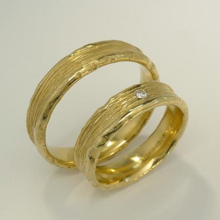 Trauringe Apparenza PAAR 585-Gold