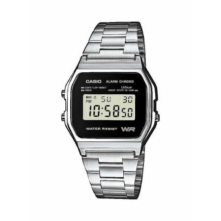 Casio Vintage-Edgy A158WE  Digital-Armbanduhr