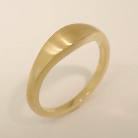 Kombinationsring Multiple Form-B Gold - Rotgold - Weißgold / matt - poliert