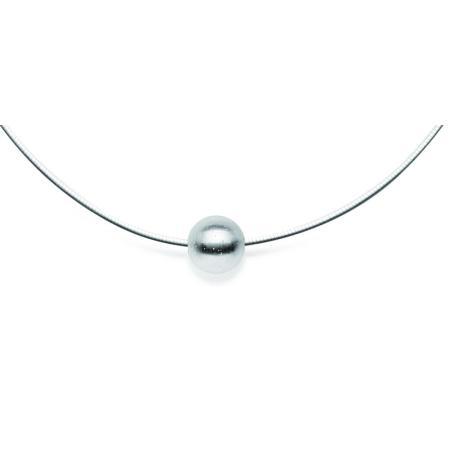 bastian inverun Anhänger Kugel 13 mm 925-Silber diamantiert