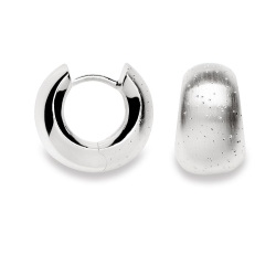 bastian inverun Creolen 925-Silber