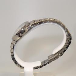Boccia Damenuhr 3255-04 oval bicolor mit Perlmutt-Zifferblatt