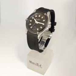 Marcello C Marine 2030.2 Herren-Automatik SW 300-1 Edelstahl mit Silikonband