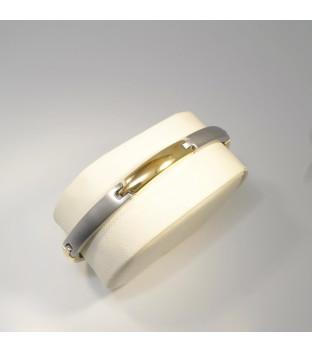 Boccia bicolor Armband 0320-03 gerade Titan...
