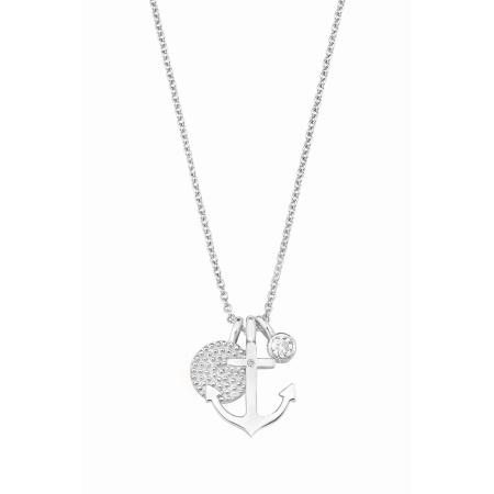 s.Oliver Collier Anker 2017246  mit Zirkonia in Silber Länge 40+5 cm