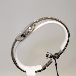 Boccia Damenuhr 3248-01 Metallband Spange mit Saphirglas