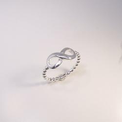 Ring infinity unendlich Silber 925 - Weite 52