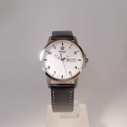 Boccia Titanium 604-12 unisex Armbanduhr Saphirglas 5 bar mit Lederband