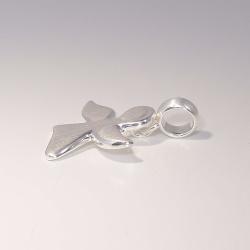 Schutzengel Anhänger Engelchen 20 mm Silber 925 mit...