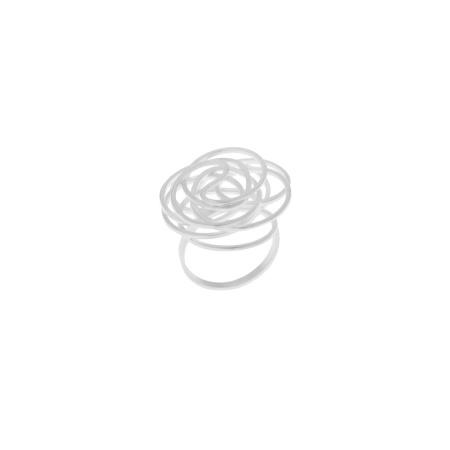 Tezer Damenring aus 925 Silber - Weite 59