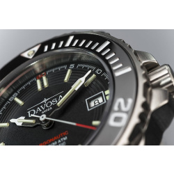 Davosa Argonautic Lumis Automatik Stahl 161.509.20 Herren Taucheruhr mit Heliumventil