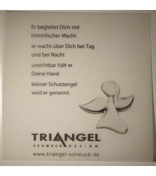 Schutzengel Ohrstecker Silber 925
