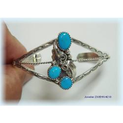 Armspange Silber 925 Türkis Navajo Indianerschmuck...