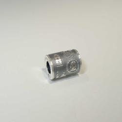 Ingelheim Anhänger Tube, silber oxidiert