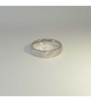 Trauring - Damenring 333 Weißgold rhodiniert 5 x 1,8 mm Weite 56 von Goldschmiede Zwehn
