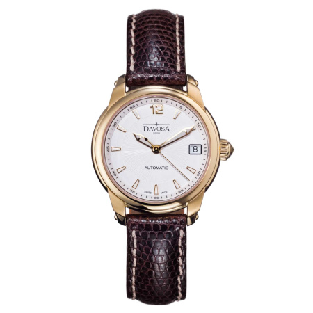 Davosa Ladies Delight PVD goldbeschichtet Automatik mit Saphirglas 10ATM