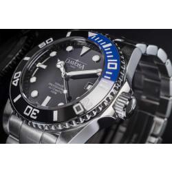 Davosa Ternos Professional TT Diver 161.559.45 Automatik schwarz/blau mit Heliumventil