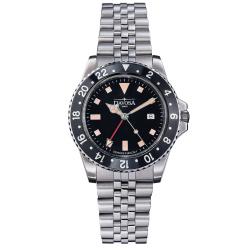 Davosa Vintage Diver Quarz 163.500.50 Taucheruhr 40 mm...