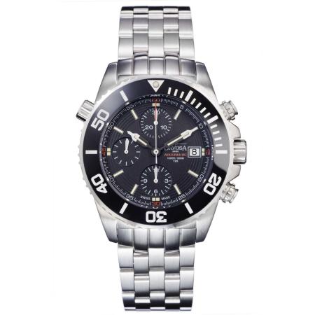 Davosa Argonautic Lumis Automatik Chronograph 161.508.20 Taucheruhr mit Heliumventil