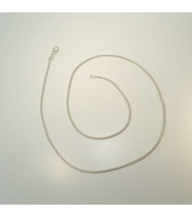 Veneziakette 7758/42.2 aus 925 Sterling-Silber Stärke 1,6 mm 42 cm lang