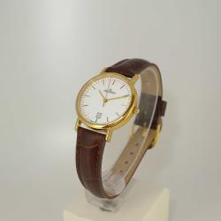 Grovana Uhren 3229.1513  Damenuhr Edelstahl vergoldet