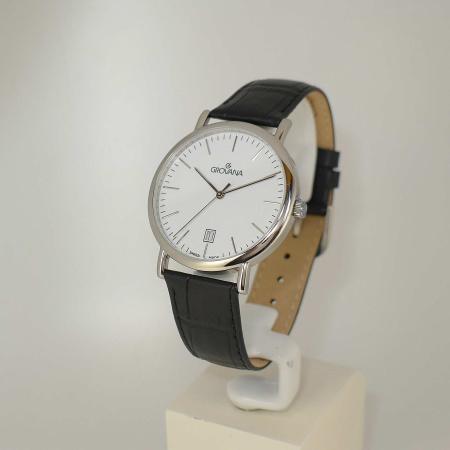 Grovana Uhren 1229.1533  Herrenuhr Damenuhr 38mm Saphirglas