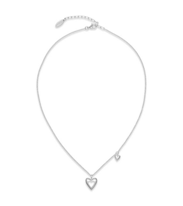 bastian inverun Collier 33300 mit Herzanhängern aus 925 Sterling-Silber