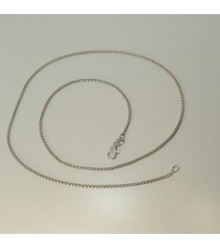 Veneziakette 7758/45.2rh aus 925 Sterling-Silber...