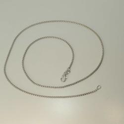 Veneziakette 925 Silber rhodiniert 5,2 g 45 cm