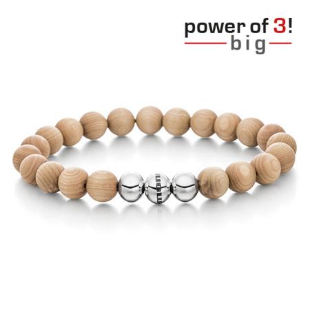 monomania Armband - Power of 3! - big - Ahorn - Innere Wärme