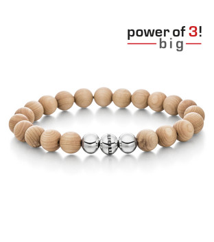 monomania Armband - Power of 3! - big - Ahorn - Innere...