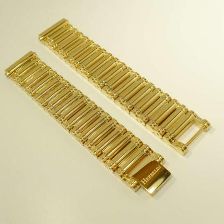 Michel Herbelin Metallband gold-plattiert B17443BP für Antares-Serie