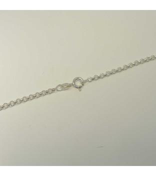 Erbsanker-Kette Halskette 925 Silber Ø 2,6 mm 60 cm