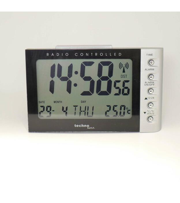 techno line Funk-Wecker WT 188 digital - mit Themometer